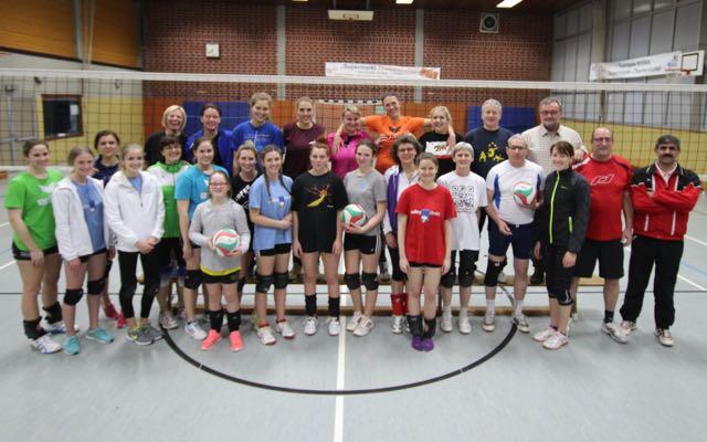 Volleyballabteilung des VFL Oberbieber startet mit Abteilungsturnier ins neue Jahrs
