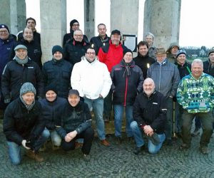 Alte Herren auf Wintertour 2017