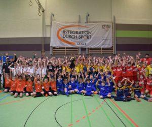2. E-Junioren Cage-Soccer-Turnier zauberte jedem Kind ein Lächeln auf's Gesicht