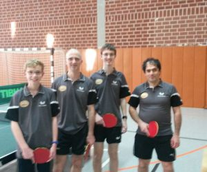 Tischtennis – 3. Herrenmannschaft gewinnt die Meisterschaft