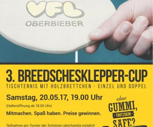 Breedschesklepper-Cup 2017