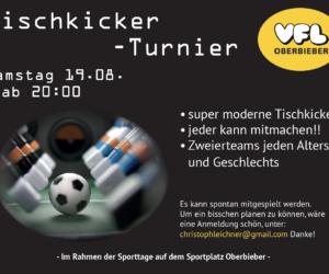 Tischkicker-Turnier