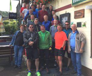 Alte Herren zum 24. Male auf Fahrradtour