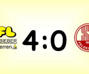 Alte Herren gewinnen 4:0 in Feldkirchen