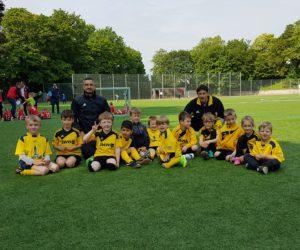 Fußball-Spielfest der Bambini bei der Sportwerbewoche der SG Feldkirchen