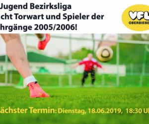 C-Jugend VfL Oberbieber spielt ab kommender Saison 19/20 Bezirksliga!