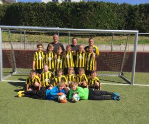 D-Jugend steigt ebenfalls in die Bezirksliga auf!