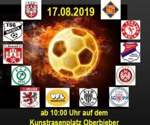 Löhr-Cup am Aubach mit den Nachwuchsteams zahlreicher Traditionsvereine