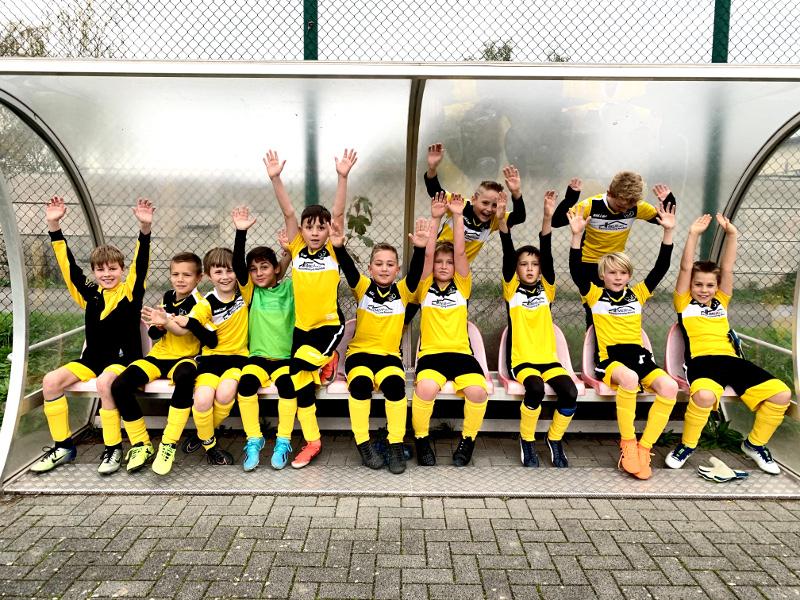 E-Jugend des VfL Oberbiebers