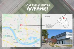 Cage Soccer Anfahrt