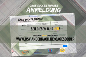 Cage Soccer Anmeldung