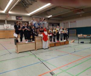 Volleyballer  U 14  ernten Lohn für diszipliniertes Training!!!!