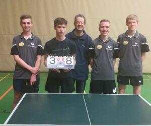 Tischtennis – Jugend Herbstmeisterschaft und Aufstieg in die Bezirksliga