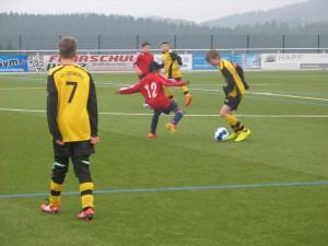 D-Jugend Spiel im März 2015